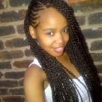 African American Black Girls Braided Hairstyles Part