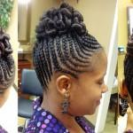 African American Braided Hairstyles Buncreative Bun