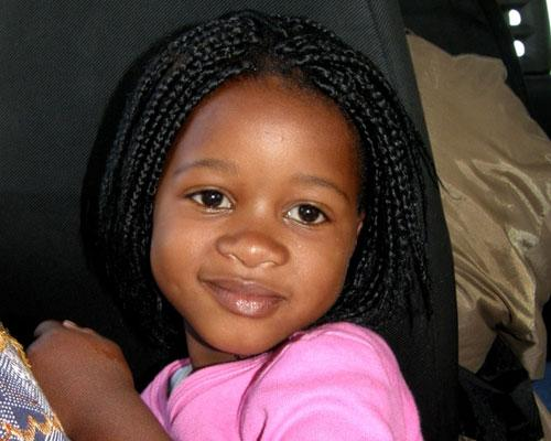 African Cute Girl