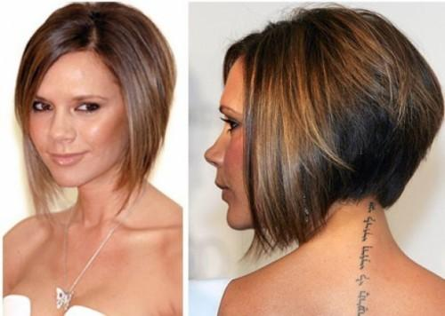 Angled Bob Hairstyles Back View