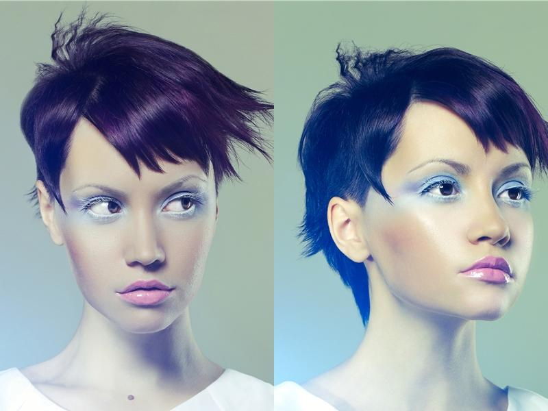Asymmetric Pixie Haircut For Oval Heart Face Shapes