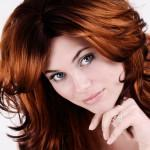 Auburn Red Hair Color