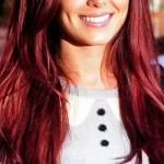 Auburn Red Hair Color Brown Coloring Chart