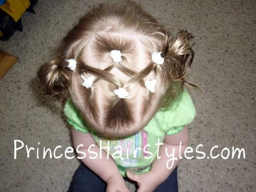 Baby Hairstyles Criss Cross Pigtails