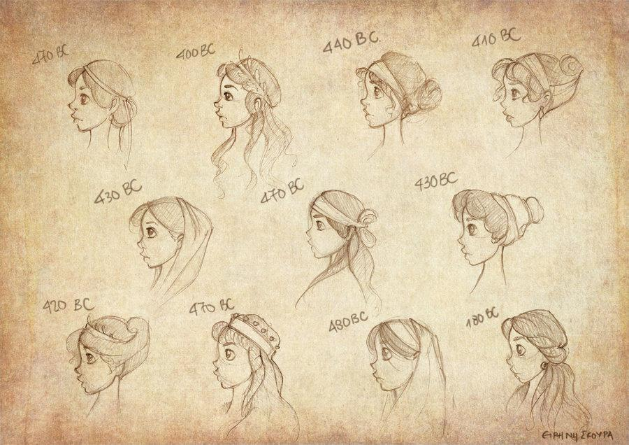 Back For Ancient Greek Hairstyles