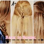 Back School Hairstyles