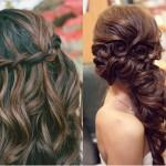 Beautiful Long Wedding Hairstyles Side