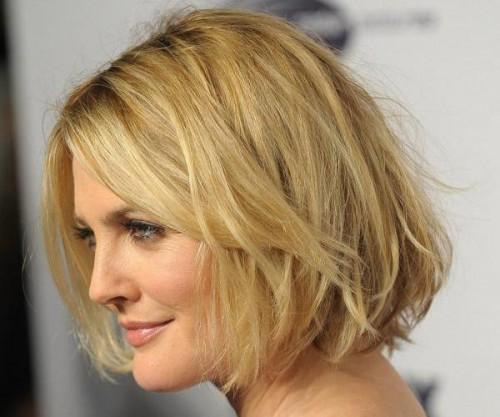 Best Short Haircuts For Woman Round Face