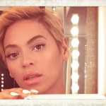 Beyonce New Look Short Blonde Hair Parul Scurt