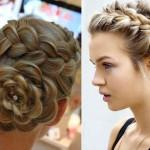 Big Braided Bun Hairstyles Updo