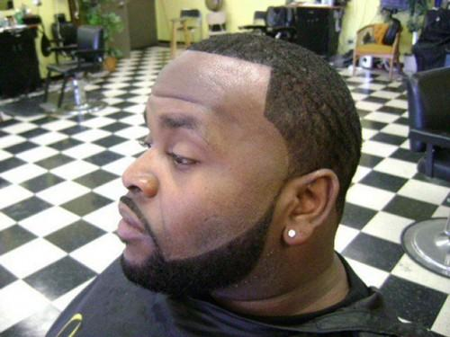 Black Men Haircuts For Round Faces
