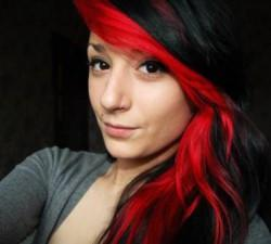 Black Red Hair Color Ideas