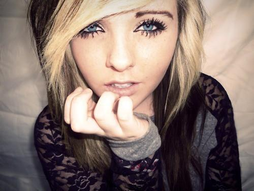 Blonde Brown Eyes Girl Hair Pretty Scene