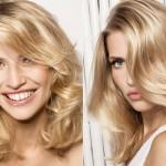 Blonde Color Medium Length Haircuts Women Hair Ideas