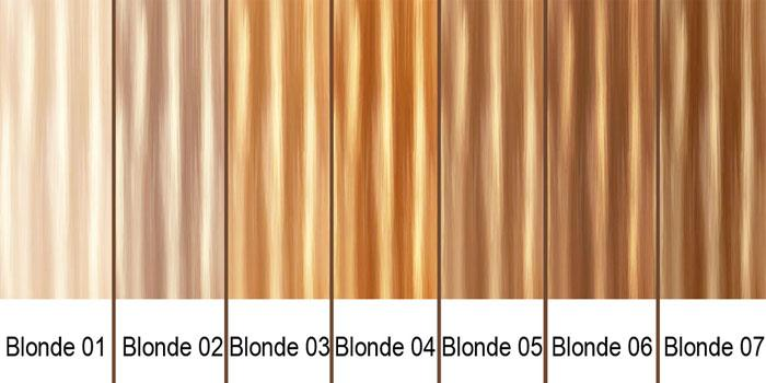 Blonde Hair Color Chart Avoid Incorrect Choice Types