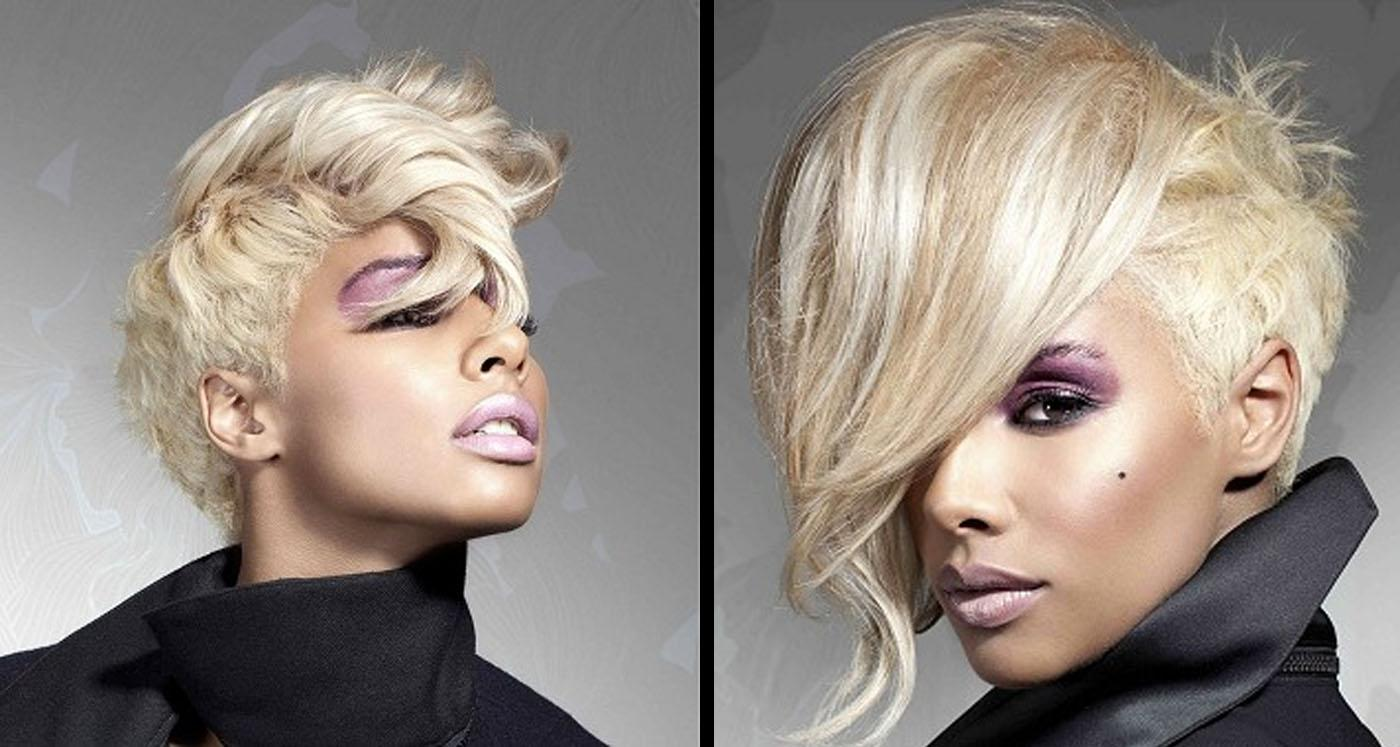 Blonde Hair Color Hairstyles For Black Women