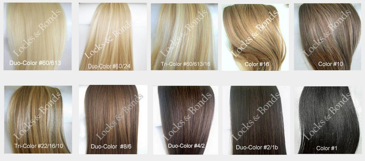 Blonde Hair Color Shades Chart Favorable
