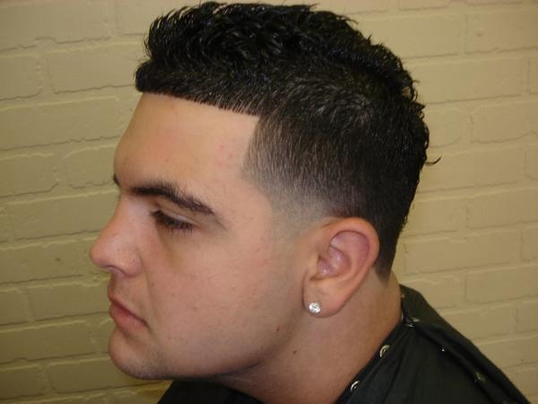 Blow Out Blowout Hair Cut Characterized Small Fade