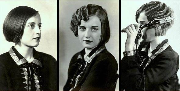 Bobbed Hair Finger Waves Was Extremely Popular