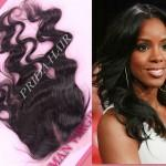 Body Wavy Brazilian Hair Natural Part Lace Top Closures Swiss