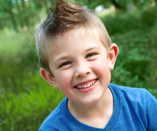 Boys Hair Styles Cute Boy Staggering Mohawk Hairstyles