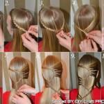 Braid Hairstyle Step