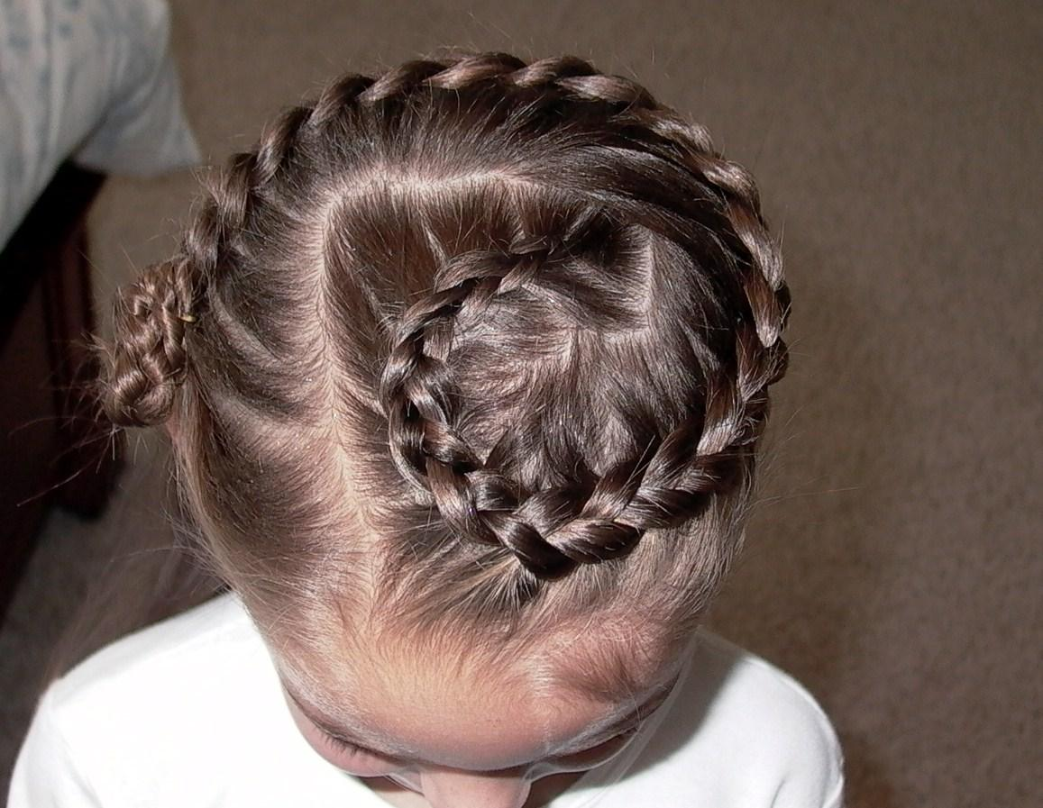 Braided Hairstyles For Little Girls Beads Pictures
