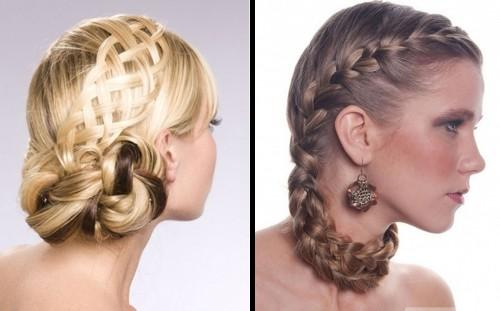 Braided Updo Hairstyles Hair Salon Formal For Women