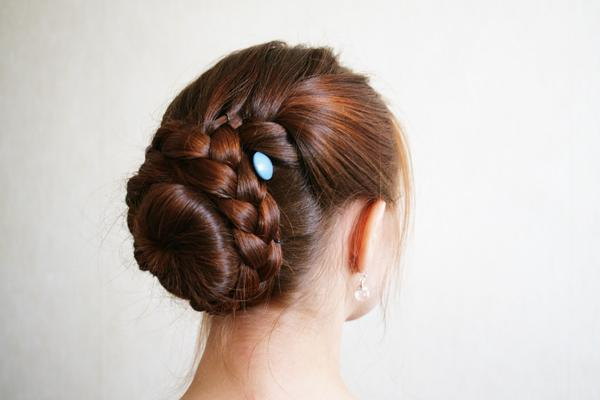 Braided Updo Tutorial For Long Thick Hair