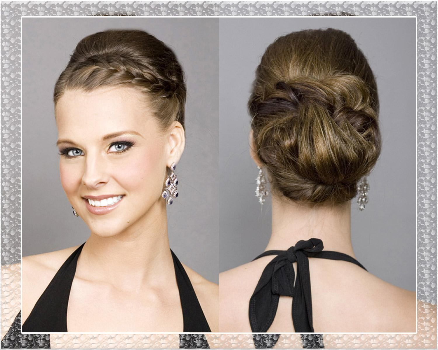 Braided Updo Wedding Hairstyles