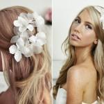 Bridal Hairstyle Flowers Lovely Wedding Hairstyles For Long Hair