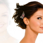 Bridal Hairstyles For Short Hair Cut Model