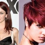 Burgundy Hair Color Out Highlights