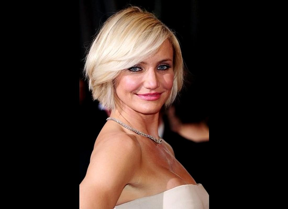 Cameron Diaz Short Hairstyles White Hairs For Prom Wedding