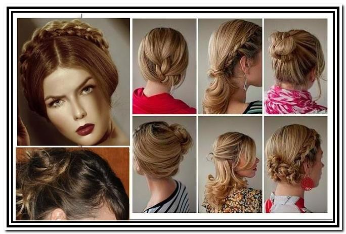 Casual Updos For Long Hair Tutorials