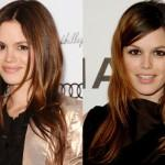Celebrity Hair Trend Middle Part Side