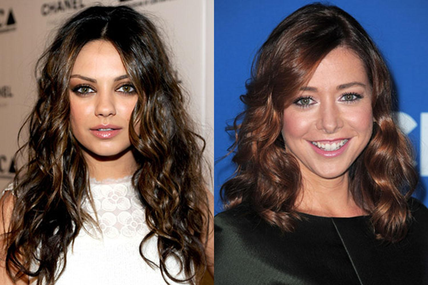 Celebrity Long Haircuts Wavy Hair Hairstyles For Oval Faces