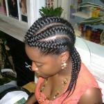 Charming Black Braided Hairstyles