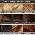 Clairol Hair Color Chart