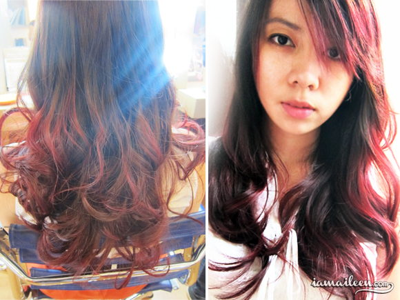 Cousins Here Are New Red Ombre Hair