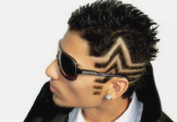 Crazy Hair Styles Men Short Hairstyles Haircuts