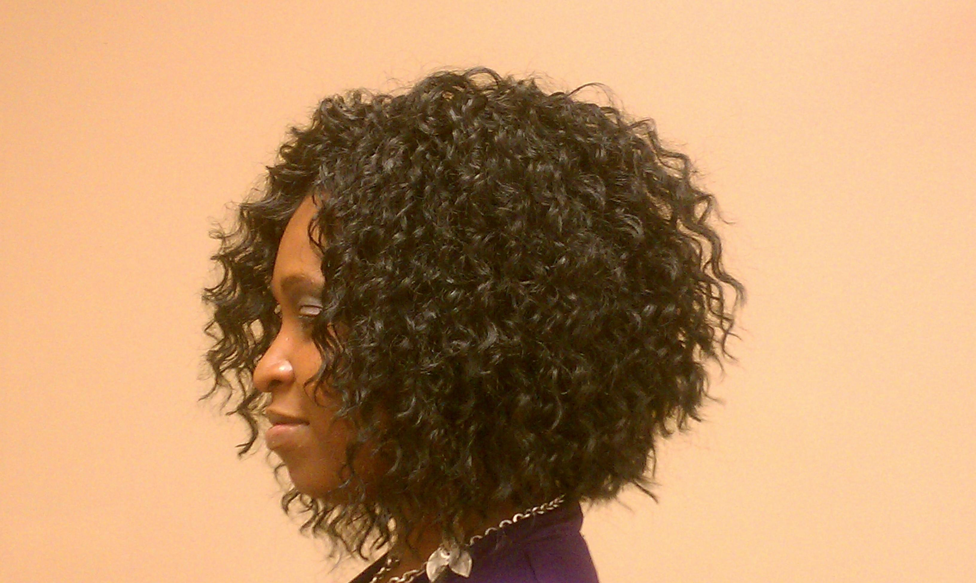 Crochet Weave Side View
