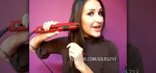 Curl Your Hair Flat Iron