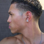 Curly Afro Temp Fade Haircut Mohawk Black Haircuts For