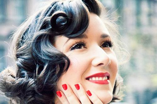 Curly Hair Awesome Vintage Hairstyles