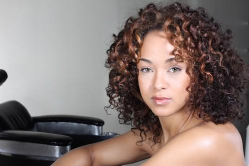 Curly Hair Highlights African American Hairstyle
