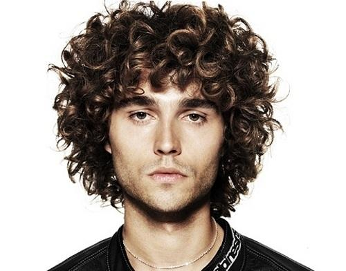 Curly Hairstyle For Thick Hair Men Sophie Hairstyles 13065