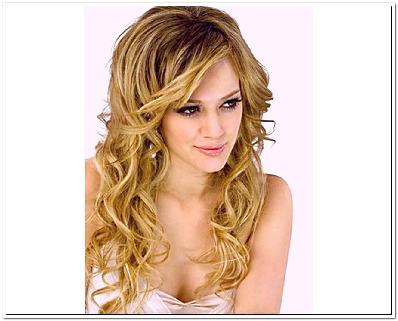 Curly Hairstyles For Long Hair Easy