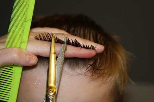 Cut Into Hair Kind Notching See How Twisted