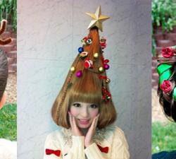 Cute Christmas Hairstyle Ideas For Girls Mas